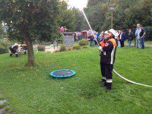 Read more about the article Gemeinschaftsübung zur Feuerwehraktionswoche 2017